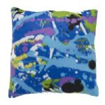 Graffiti Multi Coloured Kids Children's Boys Bedroom Nursery Decorative Cushion